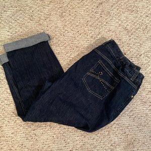 Liz Claiborne petite straight leg jeans